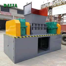 Large Capacity Double Shaft Shredder Machine For Waste Plastics Iso / Ce
